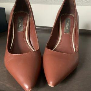 WHBM camel heels size 7